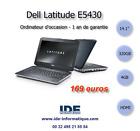 ORDINATEUR PORTABLE DELL LATITUDE E5430 - 1900mhz - 320 GB - 4GB - WEBCAM
