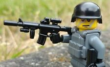 BrickArms M4 TACTICAL GUN for Lego Minifigures -Soldier Military Special Ops