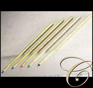 5 D1 Mines Correspondance Pour Montblanc Mehrfarb Stylo / Multicolore Recharge