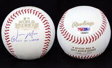 Jason Motte SIGNED 2011 World Series Baseball Cardinals PSA/DNA AUTOGRAPHED