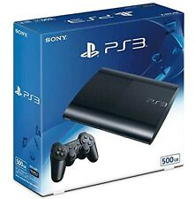 SONY PS3 Playstation 3 500GB Console System Charcoal Black CECH4300C JAPAN NEW
