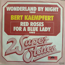 "7"" 60s MINT- ! BERT KAEMPFERT : Wonderland By Night + Red Roses For A Blue Lady"