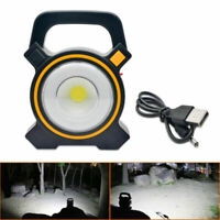 30W USB Rechargeable COB LED Flood Light Outdoor Garden Work Spot Lamp Portable