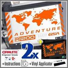 11pcs Kit R 1200 GS Reflective Orange BMW ADVENTURE Touratech ADESIVI r1200gs