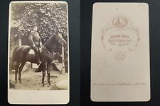 Krull, Neu-Strelitz, von Ferber Vintage albumen carte de visite, CDV. Album de r