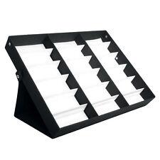 Eyeglass Sunglasses Glasses Storage Display Grid Stand Case Box Holder 18 Slot A