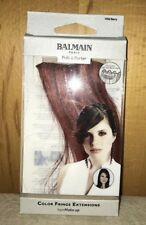 BALMAIN Paris COLOR FRINGE EXTENSIONS 15 cm x 6 cm Wild Berry NEU