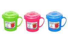 3 Sistema Microondas Sopa para llevar Tazas Varios colores Almuerzo Snack
