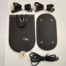 Set of 5 PU Bag Parts for DIY Weave Bag Knitting Handbag Making Accessories
