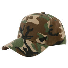 Fashion Human Camouflage Half Mesh Army Baseball Cap Desert Jungle Snap Camo Hat
