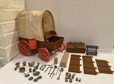 Vintage 1975 Gabriel The Lone Ranger Rides Again Prairie Wagon w/accessories
