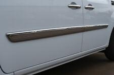 Chrome Side Door Picker Trim Set Covers 2pcs to fit RENAULT KANGOO (2008+)