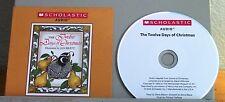 JAN BRETT Twelve Days of Christmas audio-book CD Scholastic holiday
