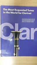 I più richiesti Melodie al mondo per clarinetto: musica SCORE (g4)
