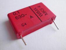 3 Stk. metalisierte Polyester-Kondensatoren 0,1µF / 630V-, MKS4 von WIMA
