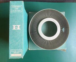 Vintage hanimex rondex 120 circular slide magazine Carousel