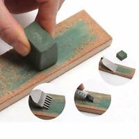 2pcs Green Bar Polishing Compound Engraving Accessories Leather Strop Sharpening