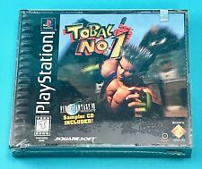 TOBAL NO. 1 Playstation Game PS1 Brand NEW Factory Sealed w/ Final Fantasy Demo