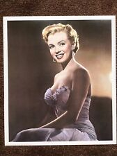 Marilyn Monroe Vintage Print 1990 Hollywood Actress Legend Beautiful Classic Era