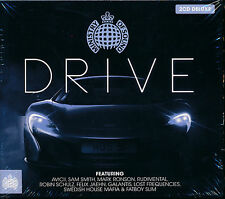 Ministry Of Sound:Drive 2-disc CD NEW Galantis Avicii Blinkie