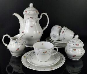 Seltmann Weiden Teeservice Kaffeeservice SEL Bayreuth 29333 für 3 Personen 12tlg