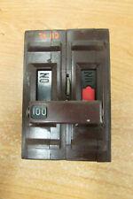 WADSWORTH 100 AMP ~2 POLE ~CIRCUIT BREAKER~USED~Wadsworth 100 amp 2 pole