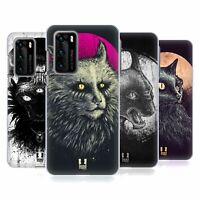 HEAD CASE DESIGNS CATS OF GOTH HARD BACK CASE FOR HUAWEI PHONES 1