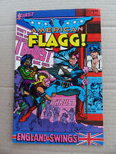 American Flagg ! 23 . Alan Moore - First 1985 - VF
