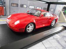 Porsche 959 4x4 talla B Coupé red rojo 1987 New nuevo Minichamps 1:18