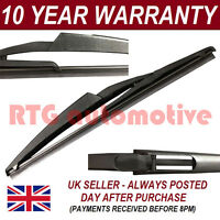 "FOR FIAT 500 (2007-) 3 DOOR HATCHBACK 11"" 290MM REAR BACK WINDSCREEN WIPER BLADE"