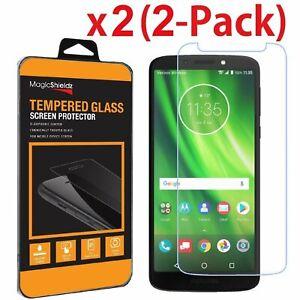 2X MagicShieldz Tempered Glass Screen Protector For Motorola Moto  G6 Play