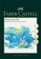 #792812 Faber Castell A3 Sketch Pad Watercolour Spiral Bound 300gsm 10 Pages Art