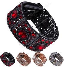 Crystal Rhinestone Watch Band Strap Belt For Apple Watch 38 40 42 44mm Bracelet