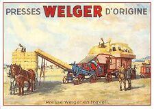 BR71883 presses welger d origine materiel agricole agricultural materiel france