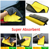 Car Cleaning Towel Washing Cloth Soft Dry Microfiber Ultra Absorbent Rag-WI