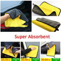 Auto waschen super saugfähiges Handtuch Auto Reinigung Mikrofaser Trockentuch-RO