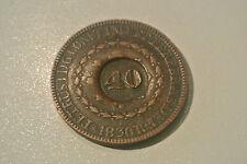 BRESIL 40 REIS 1830 R