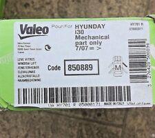 VALEO Front Driver's Side Window Regulator - HYUNDAI i30 (07-12) - 850889