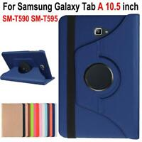 "For Samsung Galaxy Tab A 10.5"" Leather 360 Rotating Case Flip Smart Cover Stand"