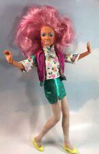 Jem and the Holograms Raya doll Pink Hair Hispanic Ethnic vintage Hasbro 1987