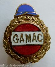 Insigne boutonnière 1914 /1918 WWI ANCIENS COMBATTANTS GAMAC CASQUE ORIGINAL
