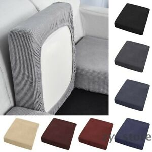 1/2/3 Seater Sofa Seat Covers Couch Slipcover Cushion Elastic Settee  Protector