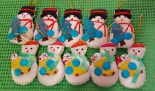 60 Puffy Snowmen for Christmas Cheer! Wreaths, Gift Bags, Name Tags, School Bags