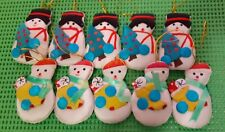59 Puffy Snowmen for Christmas Cheer! Wreaths, Gift Bags, Name Tags, School Bags