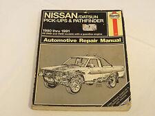 Haynes Manuals Nissan/Datsun Pick-Up & Pathfinder 1980-1997 Auto Repair Manual