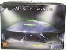 PEGASUS HOBBIES 1/72 SCALE AREA 51 U.F.O. AE-341.15B PLASTIC MODEL SPACESHIP