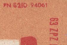 POLAND 1963 Matchbox Label - Cat.Z#566c.-p. I Two chimneys of burning matches.