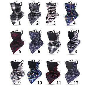 Balaclava Neck Gaiter with Filter Bandana Triangle Scarf Face Hanging NuQjN