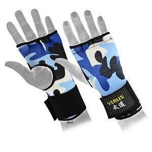 Verus Inner Gel Boxing Glove Hand Wraps Blue/Camo size Medium