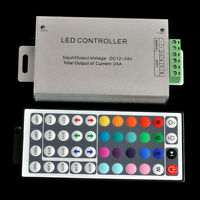 24A 288W 44Key DC12-24 Remote Controller For 5050 3528 RGB LED Strip LED module
